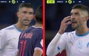 Spytter PSG-stjerne modspiller i ansigtet? Se videoen her