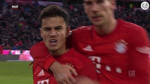 Tre kasser og to assists: Coutinho leverer kongekamp mod Werder Bremen