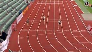 Sara Slott vinder på atypisk distance ved særligt stævne