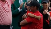 Med farmand som caddie: Tiger Woods' 11-årige søn suveræn i juniorturnering