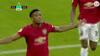 United i front på svær udebane: Martial banker bolden op i nettaget