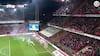 Skandale i Belgien: Anderlecht-fans bliver ved med at kaste fyrværkeri på banen, og så bliver kampen afblæst