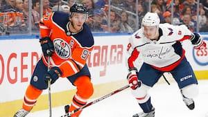 Oilers leverer Tiki-taka-ishockey - vinder over Capitals og Eller med SUBLIM kasse i overtiden