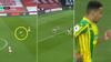 Ingen Arsenal-spillere vil presse ham - så WBA-spiller løber halv banelængde og scorer