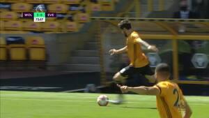 3-0 til Wolves: Neves med kongeassist - lægger en perfekt aflevering fra egen banehalvdel