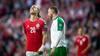 Danmark skuffer med 1-1 mod Irland i Parken