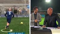 Stig Tøftings elendige straffespark fører til årets største grineflip i TV3 SPORTs studie