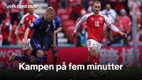Danmark taber i skyggen af Christian Eriksens kollaps