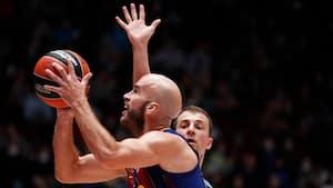 Valencia og Barca i spansk Euroleague-duel: Se highlights fra 1. halvleg her