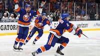 Islanders tvinger mestrene ud i kamp syv: Se højdepunkterne fra dramaet her