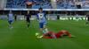 Chokstart: Dommer fløjter for straffe efter 28 sekunder - Esbjerg hurtigt foran