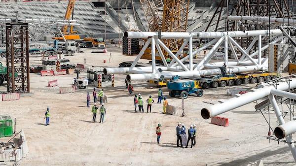 Rapport: Arbejdere udnyttes i forberedelse til VM i Qatar