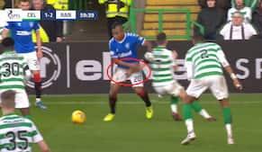 Celtic-spiller tog fat i nosserne på Rangers-stjerne - nu får han karantæne