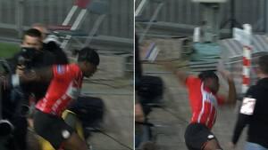 Hovsa! PSV-spiller falder på halen efter scoring