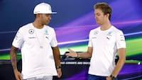 Den store rivalisering i nyere tid: Se indslag om Hamilton og Rosberg