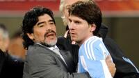 Messi begræder Maradonas død: 'En meget trist dag for Argentina og fodboldverdenen'