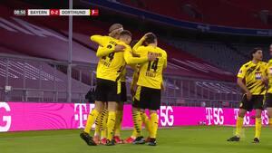 Lewandowski overstråler Haaland i målslugernes duel - se højdepunkterne her
