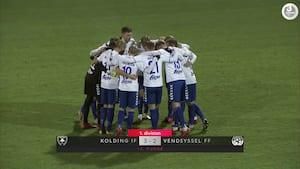 1 DIV MAGASINET: Viborg buldrer videre, tæt kamp om top-seks - se mål og highlights fra 13. spillerunde