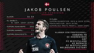 Jakob Poulsen om tiden efter spillerkarrieren: Jeg vil være træner