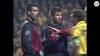 Faxe og Guardiola i klammeri: Barca-stjernen får rødt - BIF-fansene jubler