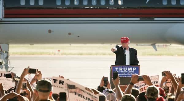 Trumps golfturnering tvangsflyttes til Mexico