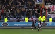 Newcastle-helt med genialt tweet om mulig livstidskarantæne til bizart fejrende fan