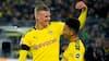 Håland på pletten i nyt Dortmund-målshow: Se alle målene fra storsejren over Frankfurt