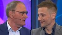 Elkjær og Jørgensen uenige om favoritten i PSG-Manchester City
