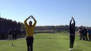 Husker du? Golf-ultras laver vanvittig stemning med islandsk 'Viking'råb'
