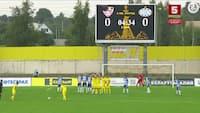 Uskarpe Esbjerg sænket i Hviderusland: Se de to Soligorsk-scoringer her