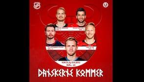 Goals, goals, goals - se samtlige 68 danske NHL-kasser fra denne sæson i én video
