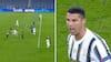 Nu har han scoret i 15 Champions League-sæsoner i træk: Ronaldo bringer Juventus på 1-1 - se målet her