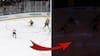 Det må bare ikke ske: NHL-spiller har stor chance og så forsvinder lyset - se den vilde episode her