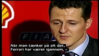 F1-retro: En af motorsportens største stjerner - se portrættet af Michael Schumacher