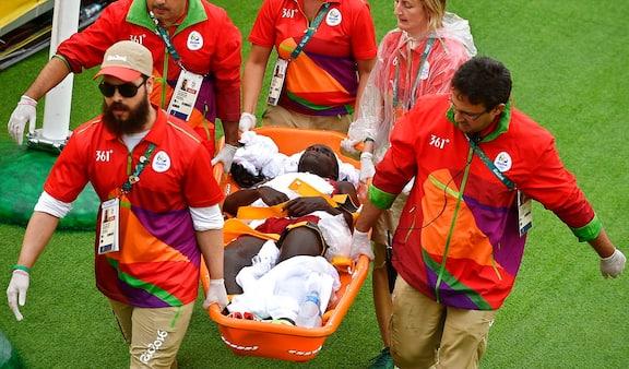 Dansk maratonløber kollapser efter målstregen i Rio