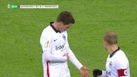 Leverkusen scorer på straffespark og bringer balance i opgøret - se 1-1-scoringen her