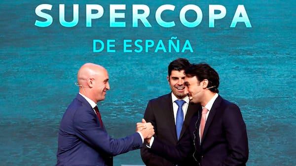 Spanien i unåde hos TV ved at sælge sin Super Cup til Saudi Arabien
