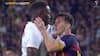Retro: Messi nikker en skalle og tager kvælertag i venskabskamp