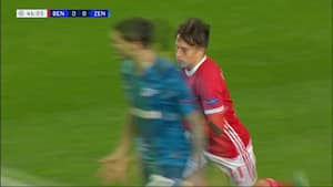 Zenit kollapsede mod Benfica – Se ALLE tre kasser her