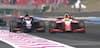 Legendesønner i intens duel: Schumacher kører Alesi af banen – se deres hårde infight her