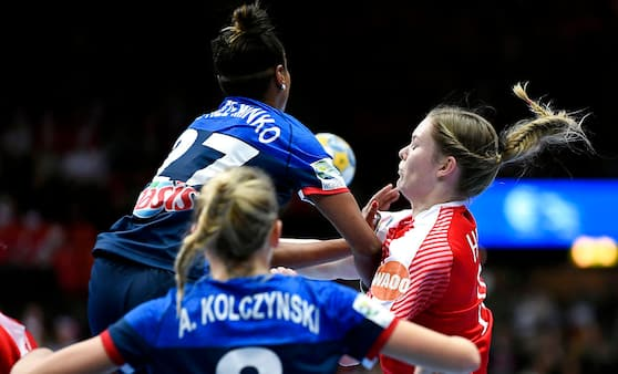 Dansk bronze-nedtur: Frankrig slår Danmark i gyser