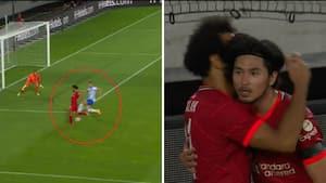 Det bliver ikke meget smukkere: Salah stjæler fokus med vidunderlig assist