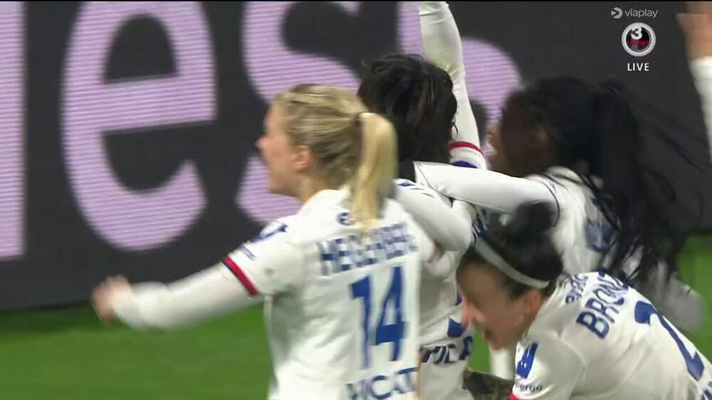 Lyon vandt fransk storkamp mod PSG - her er sejrsmålet