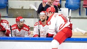 Danske ishockeyherrer lider nederlag i VM-test mod Norge