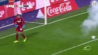 Vanvittigt: Tidligere Liverpool-keeper tæt på at miste hænderne i kanonslag-drama