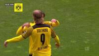 Lynkasse af Haaland bringer Dortmund i front