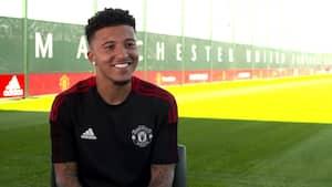 Manchester Uniteds nye stjerne om sit skifte: 'Jeg kan se udviklingen i klubben' - se interviewet her