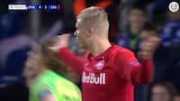 Så du det: Holdkammerat fratager Erling Braut Håland et mål i Champions League-sejr
