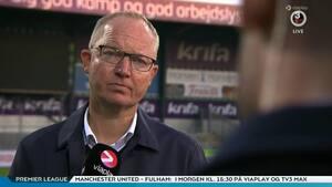 Riddersholm langede ud efter Lyngby: 'Hvis man ser det interview med Mathias Hebo, ved man hvorfor'