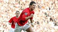 Ren nostalgi: Her får Ronaldo sin første PL-titel